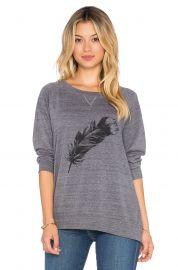 Nation LTD Feather Raglan Sweatshirt at Revolve