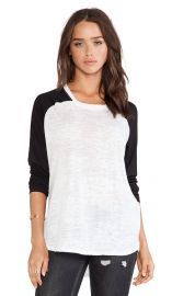 Nation LTD Green Lake Tee in White and Black  REVOLVE at Revolve
