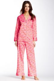 Natori Fleur Pajama Set at Nordstrom Rack