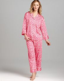 Natori Ming Notch Collar Pajama Set at Bloomingdales