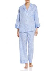 Natori Notch Pajama Set at Bloomingdales