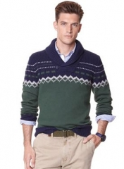 Nautica fair isle sweater at Macys