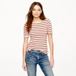 Nautical striped tee at J. Crew