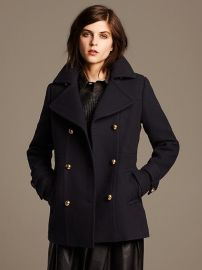 WornOnTV: Elena's navy coat with gold buttons on The Vampire ...