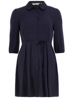 Navy blue shirtdress from Dorothy Perkins at Dorothy Perkins