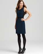 Navy dress by DKNY at Bloomingdales