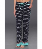 Navy polka dot pajama pants by PJ Salvage at Zappos