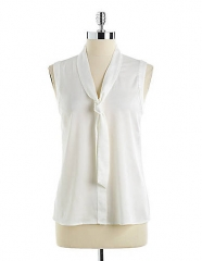 Neck Tie Blouse by Anne Klein at Lord & Taylor