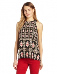 Needlepoint printed top by Eight Sixty at Amazon