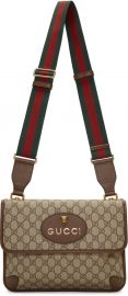 Neo Vintage Foldover Bag by Gucci at SSense