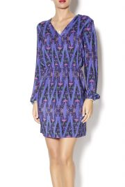Neon Aztec Print Dress at Shoptiques