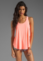 Neon tank top by Splendid at Revolve
