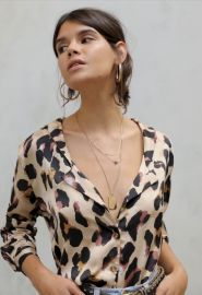 Never fully dresses Chester Shirt Leopard at Never Fully Dressed