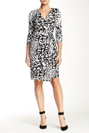 New Julian Two Printed Wrap Dress at Nordstrom Rack