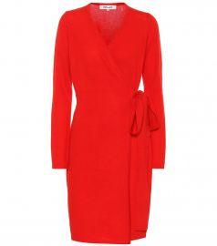 New Linda wool and cashmere dress at Mytheresa