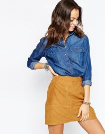 New Look Denim shirt at Asos