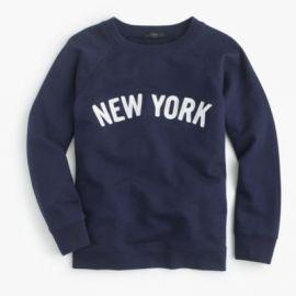 New York sweatshirt at J. Crew