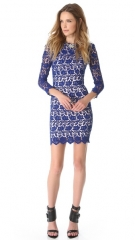 Nicholas Peony Lace Shift Dress at Shopbop