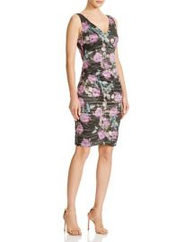 Nicole Miller Flower Strokes Dress at Bloomingdales