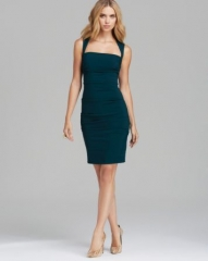 Nicole Miller Square Neck Dress - Felicity at Bloomingdales