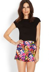 Night Bloom Shorts at Forever 21