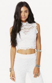 Nightcap Dixie Lace Top at Planet Blue