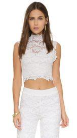 Nightcap x Carisa Rene Dixie Lace Crop Top at Shopbop