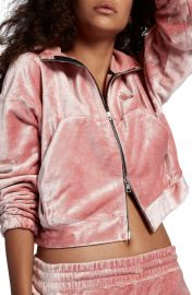 Nike NikeLab Essentials Women s Velour Zip Hoodie at Nordstrom