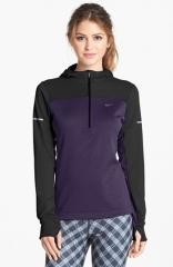 Nike Thermal Hoodie in purple at Nordstrom