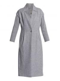 Nina ricci Ribbed-sleeve Wool Coat at Matches