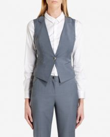 Nisaw Polished Suit Vest at Ted Baker
