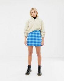 Noisy May plaid skirt at asos com at Asos