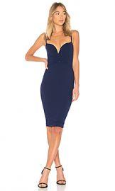 Nookie Mariah Midi Dress in Navy from Revolve com at Revolve