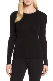 Nordstrom Signature Ribbed Cashmere Sweater at Nordstrom