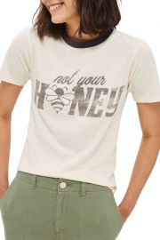 Not Your Honey Ringer Tee by TopShop at Nordstrom Rack