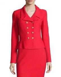 Nouveau Boucle Knit Spencer Jacket at Neiman Marcus