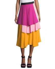 Novis The York Layered Midi Skirt at Bergdorf Goodman