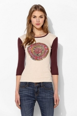 OBEY Cosmic Banshee Raglan Tee at Urban Outfitters