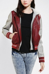OBEY Varsity Lover Bomber Jacket at Urban Outfitters