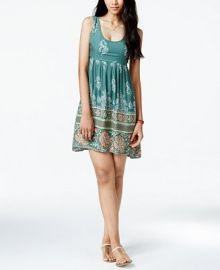 ONeill Juniors Echo Printed High-Low Tank Dress at Macys