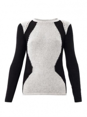 Obstructed Borders Sweater by Helmut Lang at Matches
