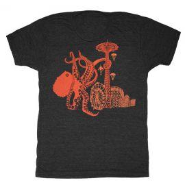 Octopus Attack Tee at Etsy