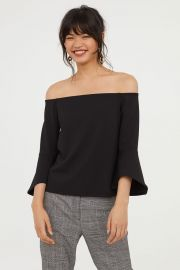 Off the shoulder top at H&M