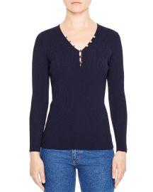 Olga V-Neck Sweater at Bloomingdales