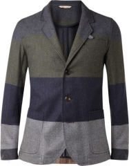 Oliver Spencer stripe blazer at Mr Porter