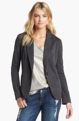 Olivia Moon Knit Blazer in grey at Nordstrom