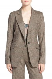 Olivia Palermo   Chelsea28 Glen Plaid Blazer at Nordstrom