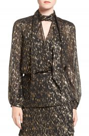 Olivia Palermo   Chelsea28 Tie Neck Blouse at Nordstrom