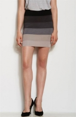 Ombre Bandage Skirt by Armani Exchange at Amazon