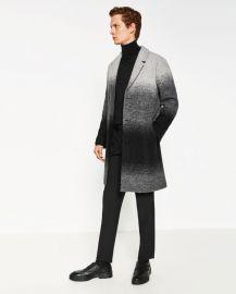 Ombre Wool Coat at Zara